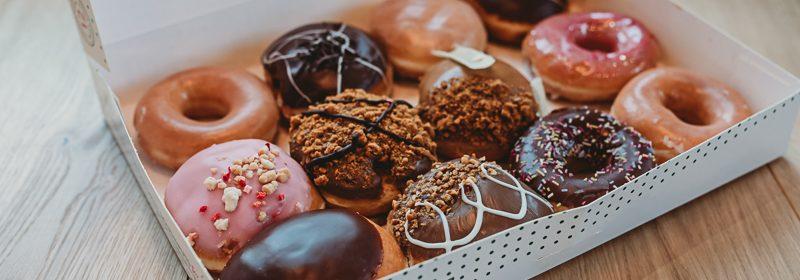 Krispy Kreme doughnuts in Leeds