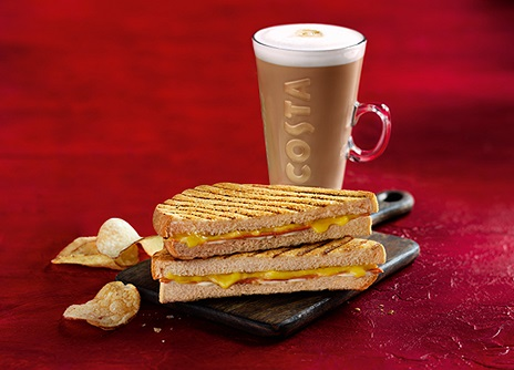 Costa Coffe CheeZe Toastie